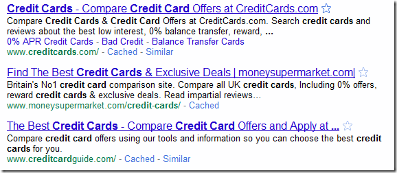 Google Credit Card